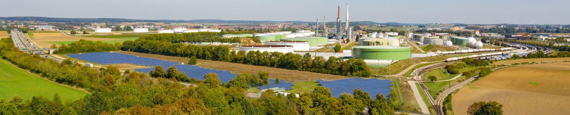Umweltschutz- und Sicherheitskonzepte der Raffinerie